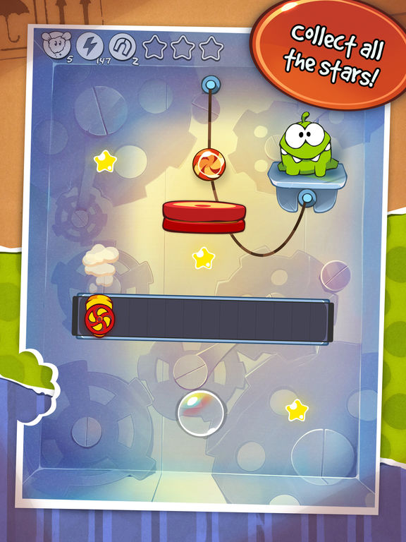 Cut the Rope HD Screenshots