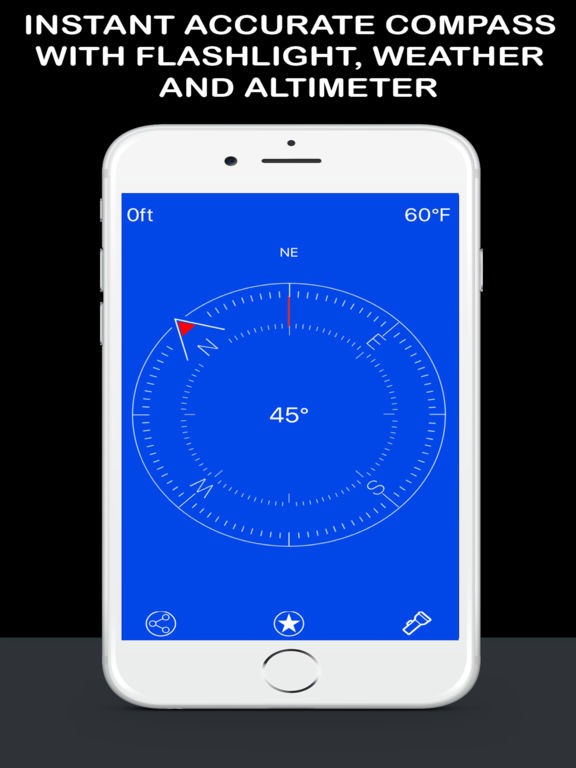 Compass Now Pro - Digital Magnetic North Heading Скриншоты3