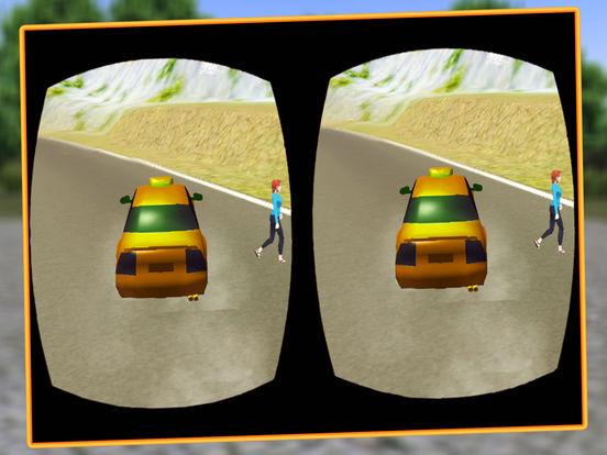 VR Modern Snow Taxi Driving screenshot 9