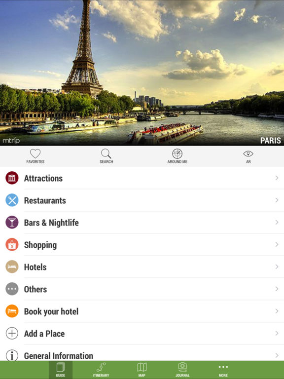 Paris Travel Guide (with Offline Maps) - mTrip on the App Store