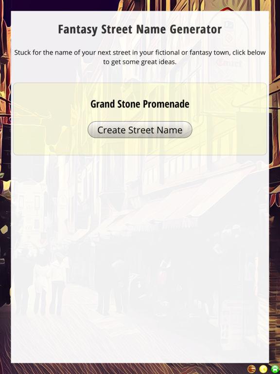 Fantasy Street Name Generator 通过 FSpace Publications