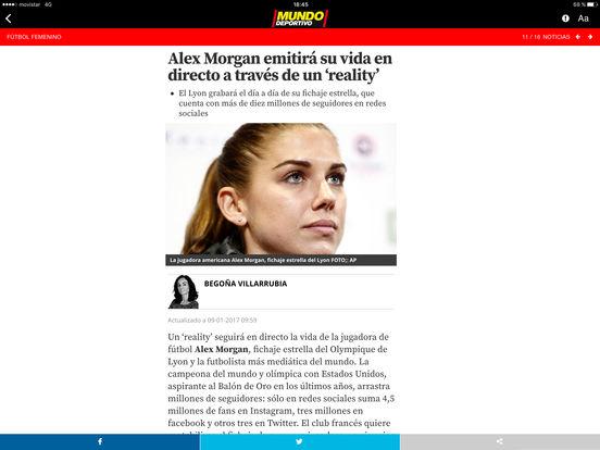 Mundo Deportivo iPad Screenshot 2