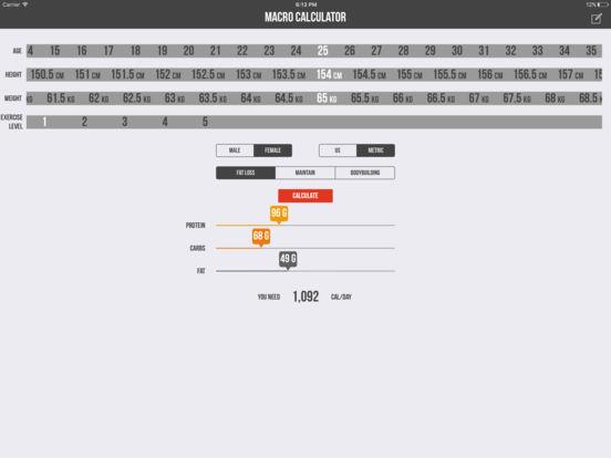 Macro Calculator - Mifflin-St Jeor Formula Скриншоты11