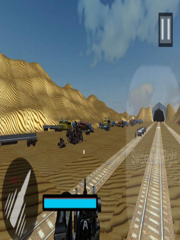 Euro Train Gunner Battle 2017 screenshot 9