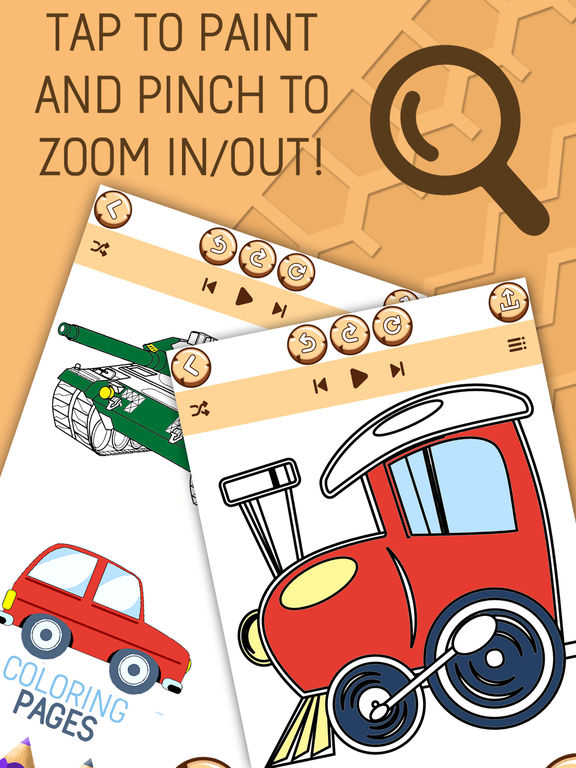 Автомобиль Раскраски Для Детей - Игра Покраска Скриншоты6