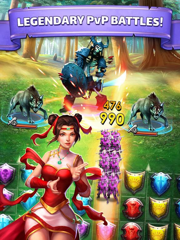 Empires & Puzzles: RPG Questscreeshot 3