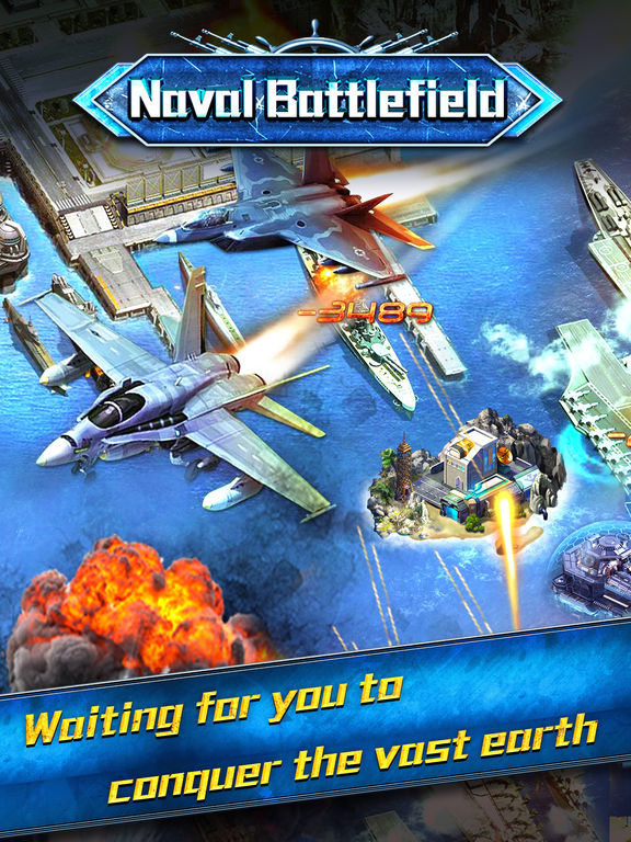 Screenshot #4 for Naval battlefield:Domination the Oeacn