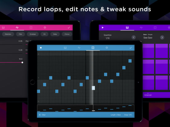 Krft sound inspired on the app store
