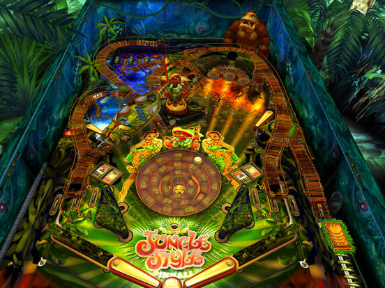 Jungle Style Pinball iPad Screenshot 1