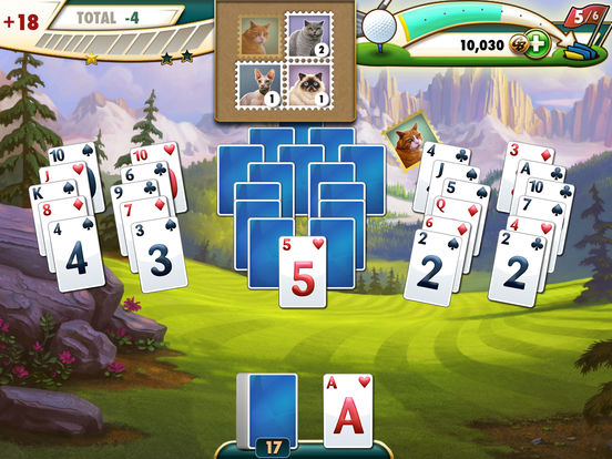 Fairway solitaire on the app store for Fairway solitaire big fish games