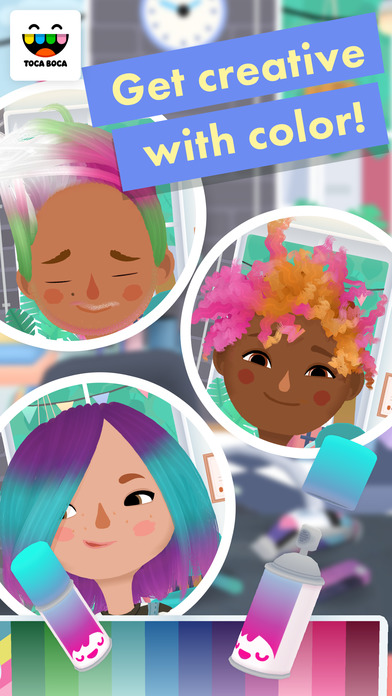 Toca Hair Salon 3 iPhone