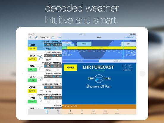 StationWeather - Aviation Weather and Charts Screenshots