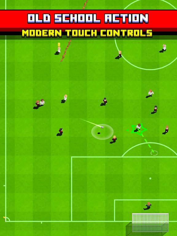 Retro Soccer - Arcade Football Game iPad