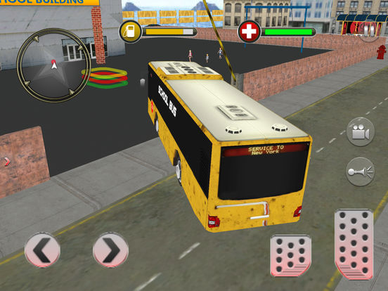 Modern City School Bus screenshot 9