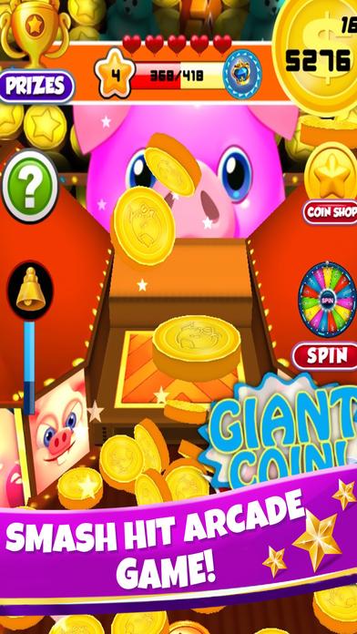 Screenshot 4 свинка Монета толкатель — бульдозер Казино Игры
