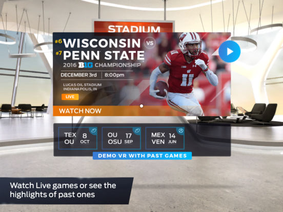 FOX Sports VR screenshot 9