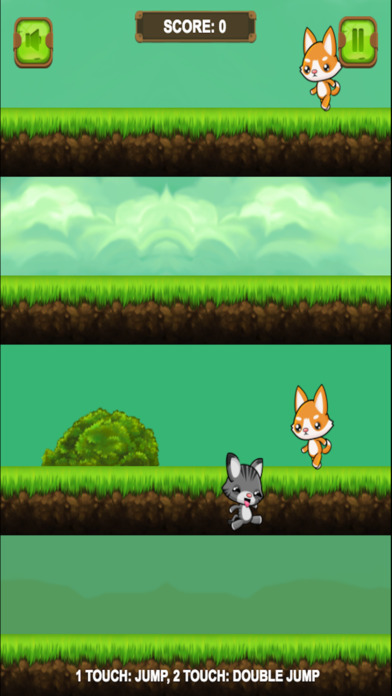 Cat Vs Dog Adventure screenshot 2