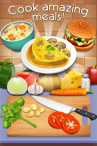 Cookbook Master - Kitchen Chef & Food Maker Game screenshot 1