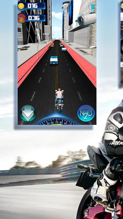 Screenshot 1 都市赛道狂飙机车-全民都爱玩的街机手游!