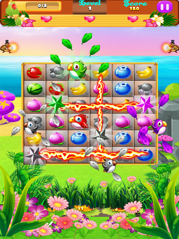 Sweet Fruits & Birds screenshot 6