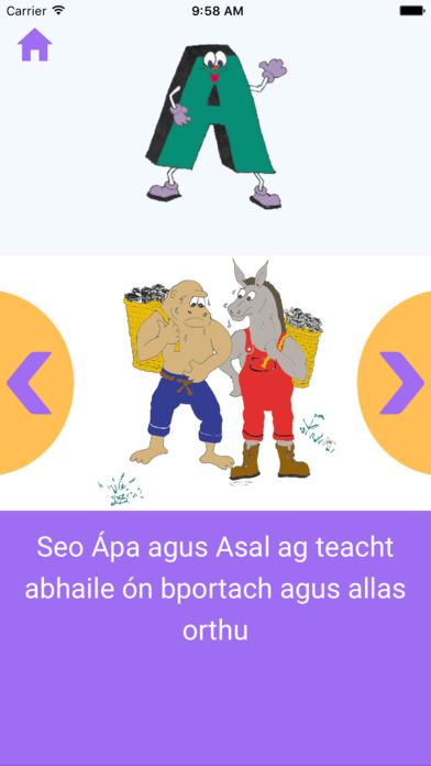 Aibítear Mhuintearais screenshot 2