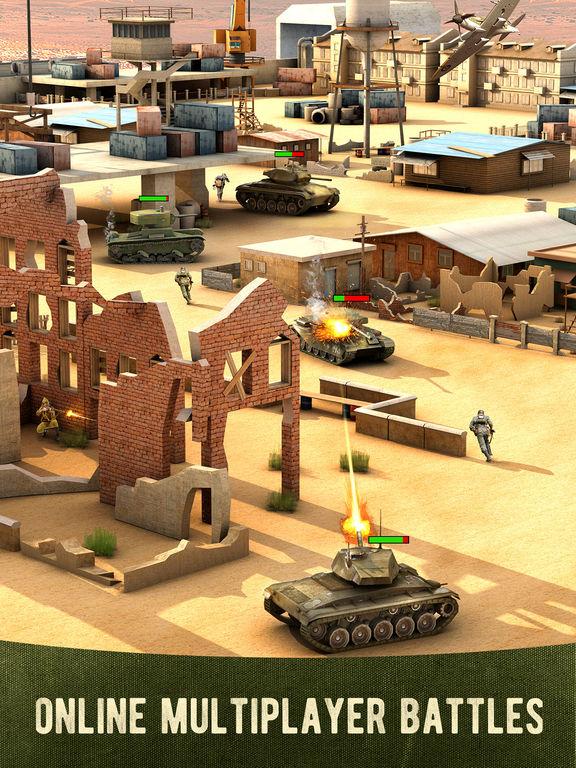 War Machines: 3D Multiplayer Tank Shooting Gamescreeshot 3