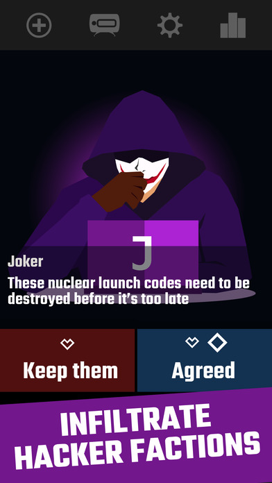 Rogue Hacker for iOS - Rule the Hacker World Image