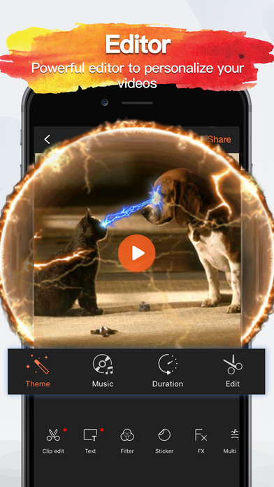 VivaVideo PRO Best Video Editor & Movie Maker HD Screenshot