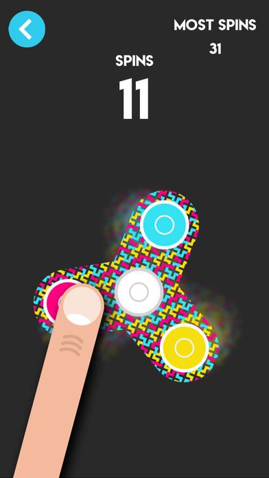 Fidget Spinner - Spinny Tappy Finger Hand Games Screenshot