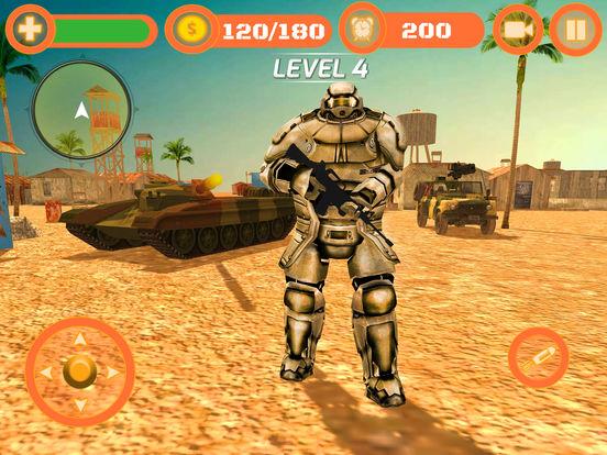 Superhero WAR: Army Counter Terrorist Attack screenshot 6