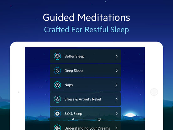 Screenshots of Relax Melodies: Sleep zen sounds & white noise for meditation, yoga and baby relaxation for iPad