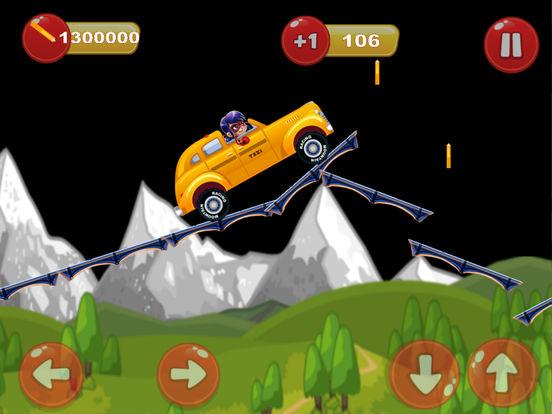 Ladybug Hill Racing - Adventure Time Version iPad Screenshot 3