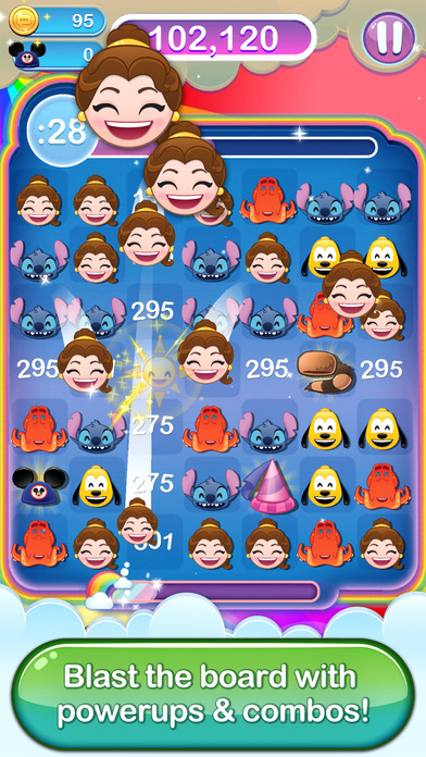 Screenshot #9 for Disney Emoji Blitz - Classics
