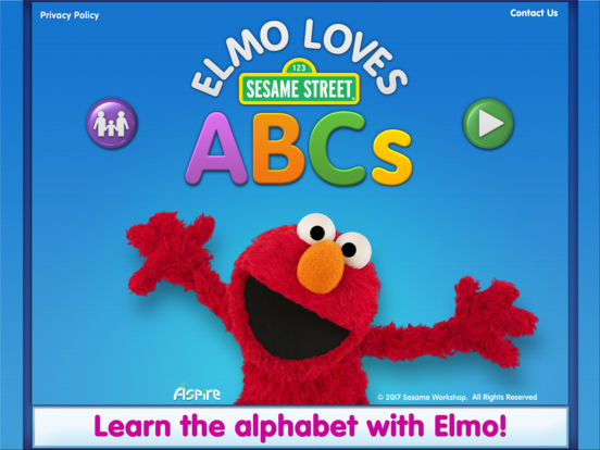 Elmo Loves ABCs на iPad