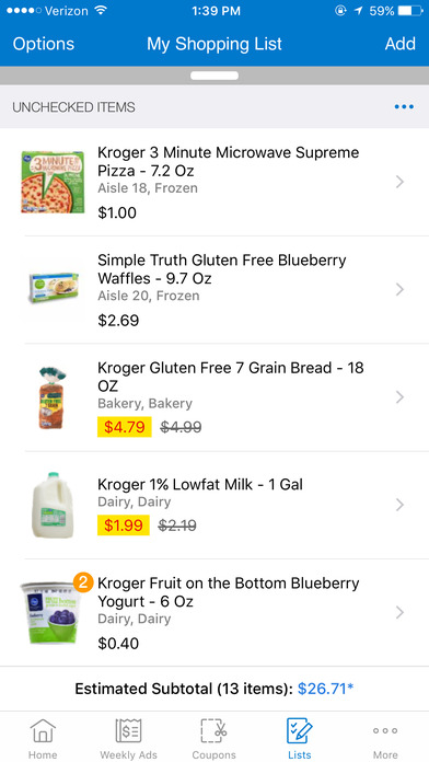 Nov 30, · Simply download the app, create an account and register your Kroger Plus Card to access all these great benefits: · Shop Pickup or Delivery right from the app! · Easily build your online shopping list, and use it to shop in-store or to place your online order/5(K).
