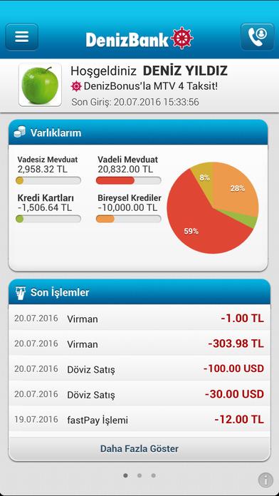 MobilDeniz screenshot