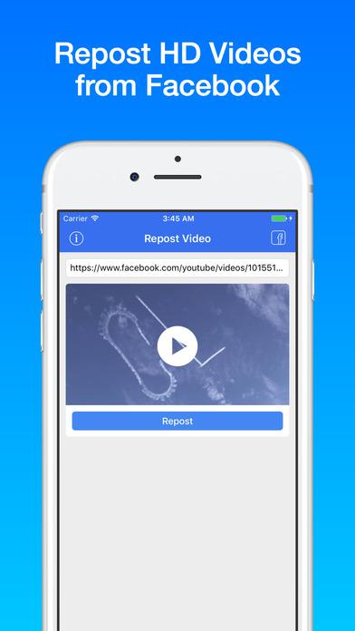 Screenshot for Repost Video in Lebanon App Store