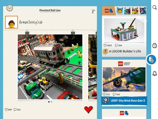 Screenshots of LEGO® Life – Create, share & discover for iPad