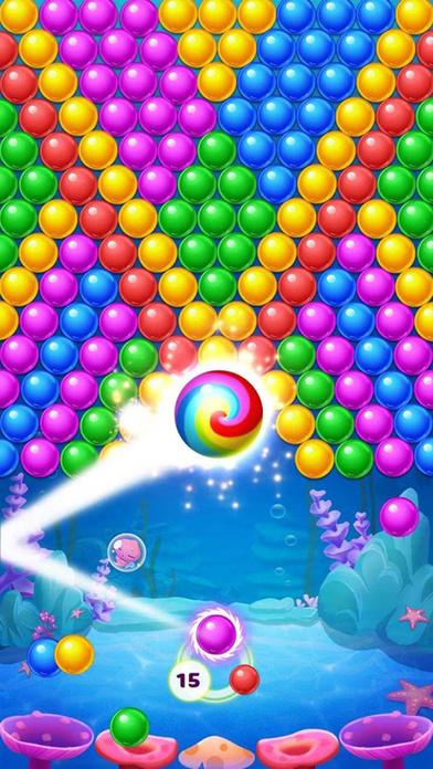 Screenshot 2 泡泡大作战-打泡泡的弹珠游戏2