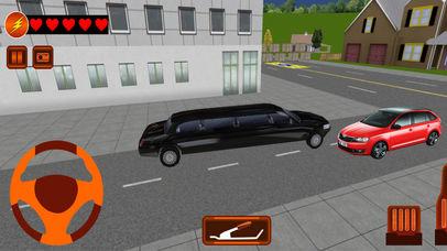 City Limousine Parking Sim Pro screenshot 1