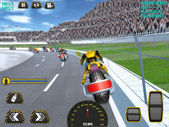 Superheroes Moto Bike Racing screenshot 7