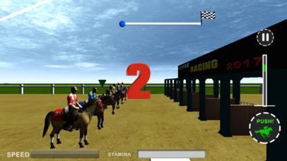 Ultimate Horse Racing:3d screenshot 1