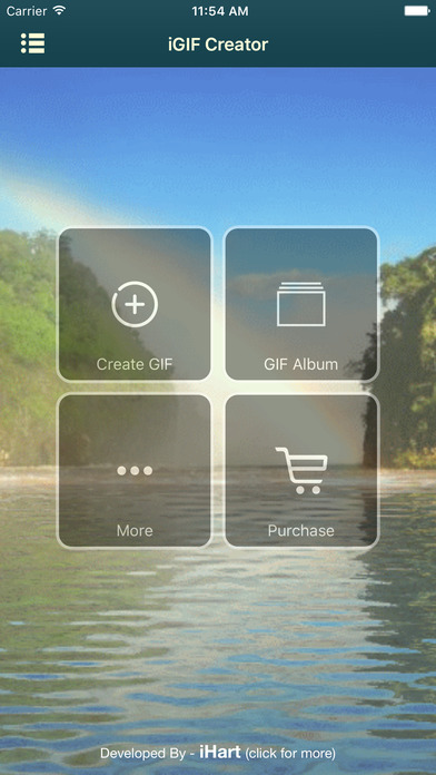 iGIF Creator (GIF Making and gif sharing) Screenshot