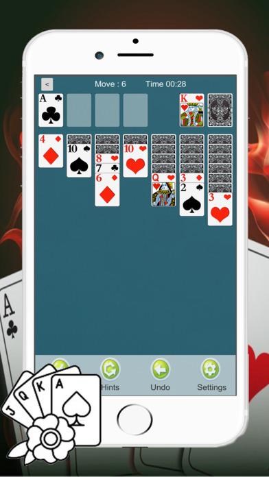 Screenshot 1 Solitaire Классический Fun Game Card Паук HD