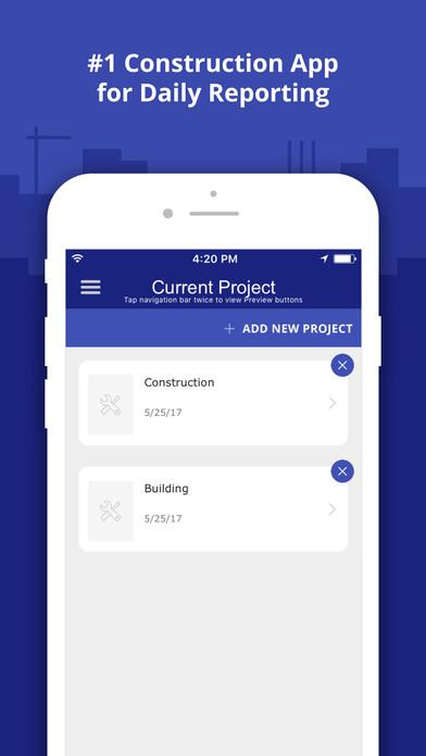 App shopper construction daily log business for Application construction maison ipad