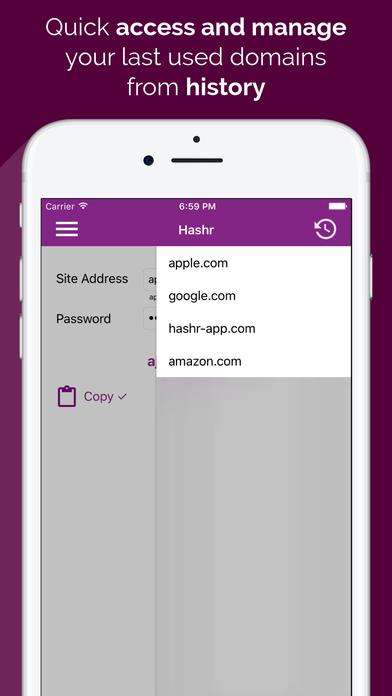 Hashr - Secure Password Maker Screenshots