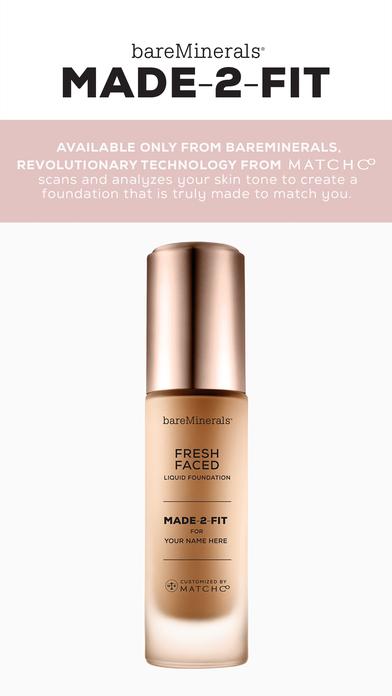 bareMinerals MADE-2-FIT Foundation makeup match screenshot 1
