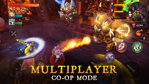 Dungeon Hunter 5 - Multiplayer RPG on iOS Screenshots