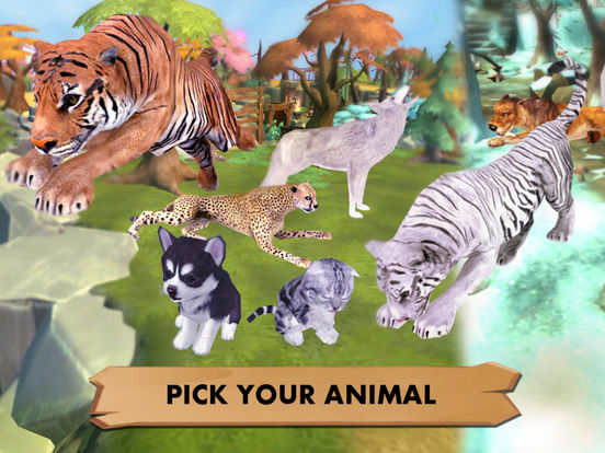 My Wild Pet Online Cute Animal Rescue Simulatorscreeshot 1