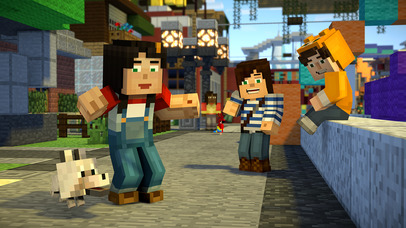 Minecraft: Story Mode screenshot 5